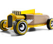 Žaislinis automobilis Automoblox Mini HR-2 hotrod roadster yellow