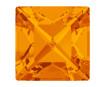 Kristāla akmentiņš Swarovski kvadrāts 4428 8mm 259 tangerine