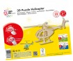 3D puzzle puidust Marabu Kids Helicopter 32 osa