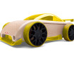 Rotaļu auto Automoblox Mini C9-R sportscar yellow