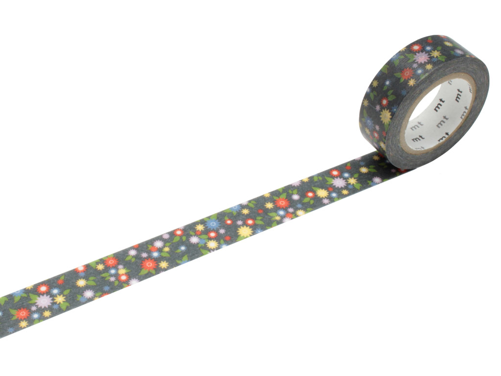 Masking tape mt ex 15mmx10m mini flower
