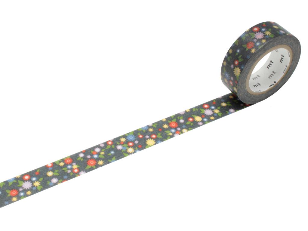 Washi dekoratyvi lipni juostelė mt ex 15mmx10m mini flower