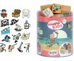 Stamp Aladine Stampo Kids 15pcs Pirates + ink pad black