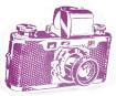Tempel Aladine Stampo Maxi Cut Camera 12x10cm