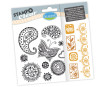Tempel silikoonist Aladine Stampo Clear 15tk Zentangle blistril