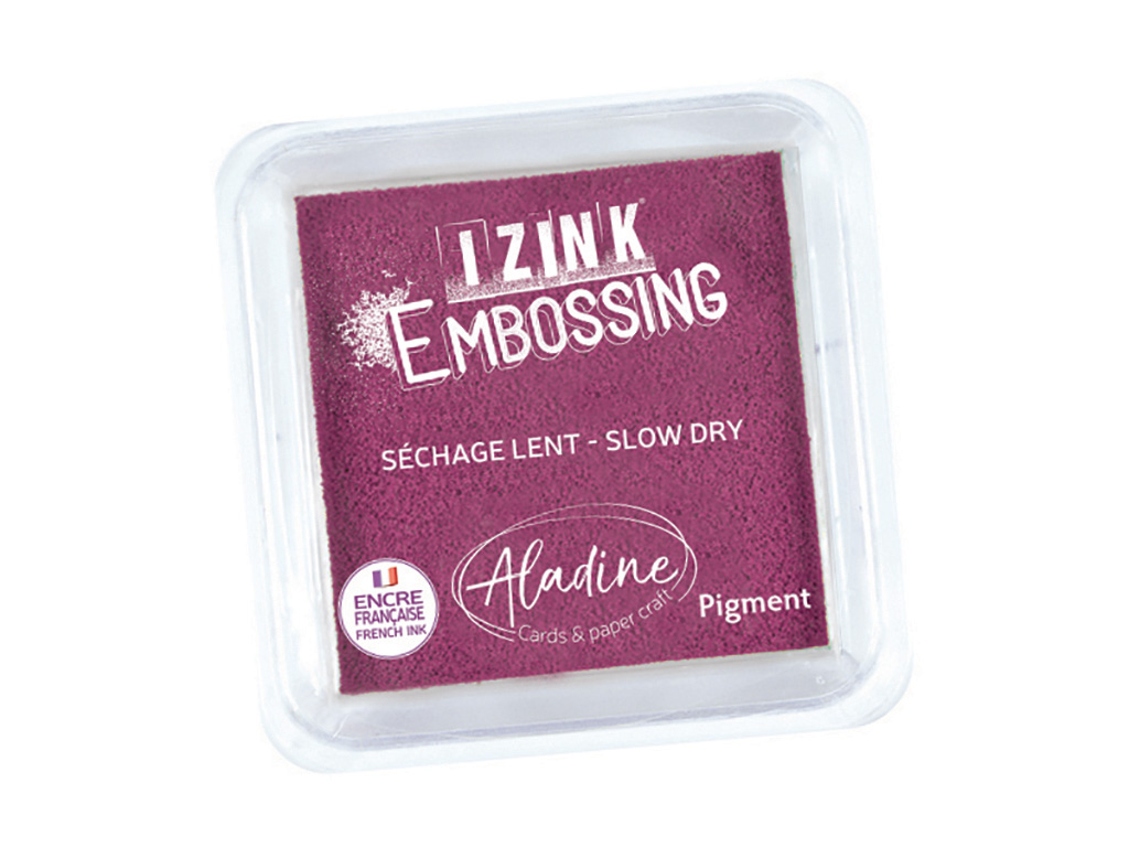 Ink pad Aladine Izink Pigment 5x5cm dark purple