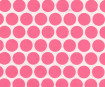 Lokta Paper A4 Big Dots Pink on Natural