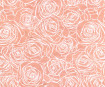 Lokta Paper A4 Roses White on Coral