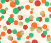 Lokta Paper A4 Multi Circle Gold/Orange/Red/Sea Green
