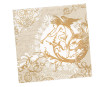 Napkins 33x33cm 20pcs 3-ply Classic Angel Gold