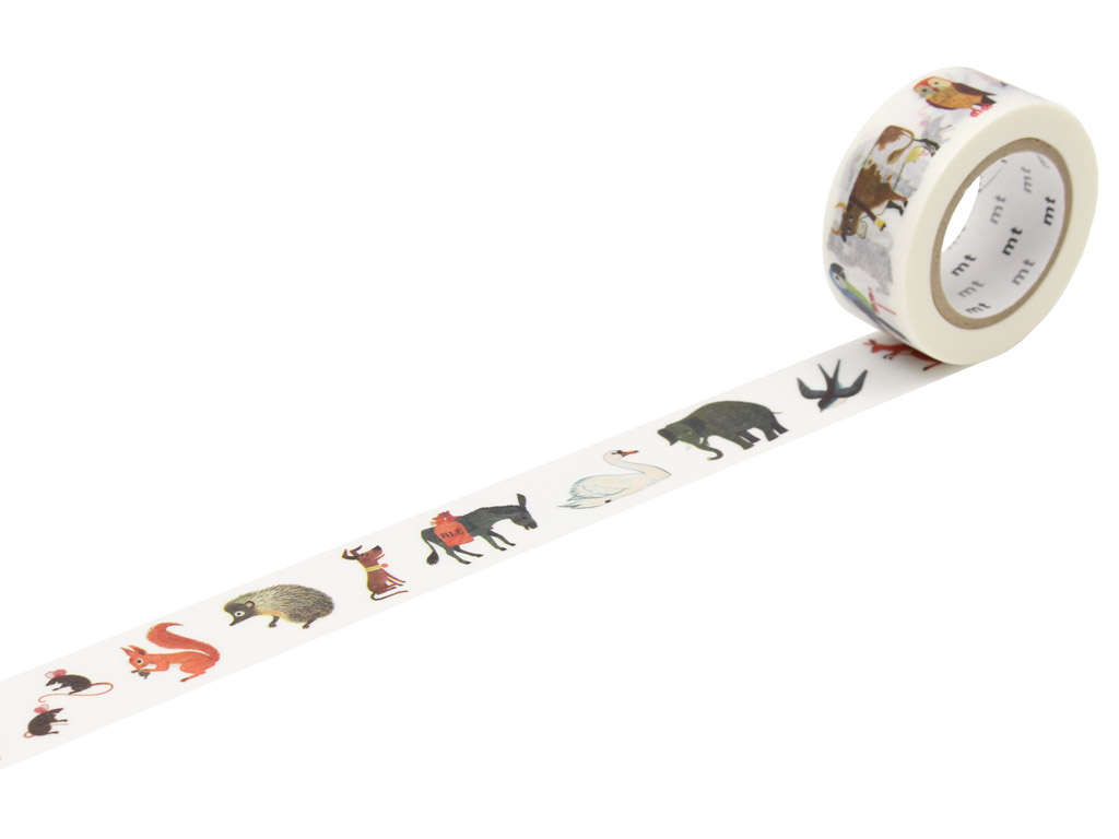Masking tape mt Alain Gree 20mmx10m animal