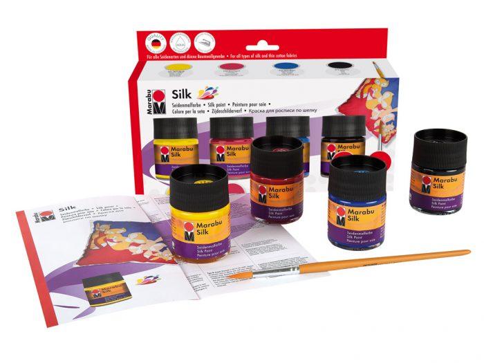 Siidivärv Marabu Silk 4x50ml - 1/2