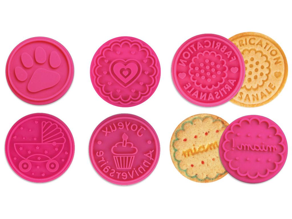 Spaudas Aladine Stampo Cookies d=6cm 6vnt.