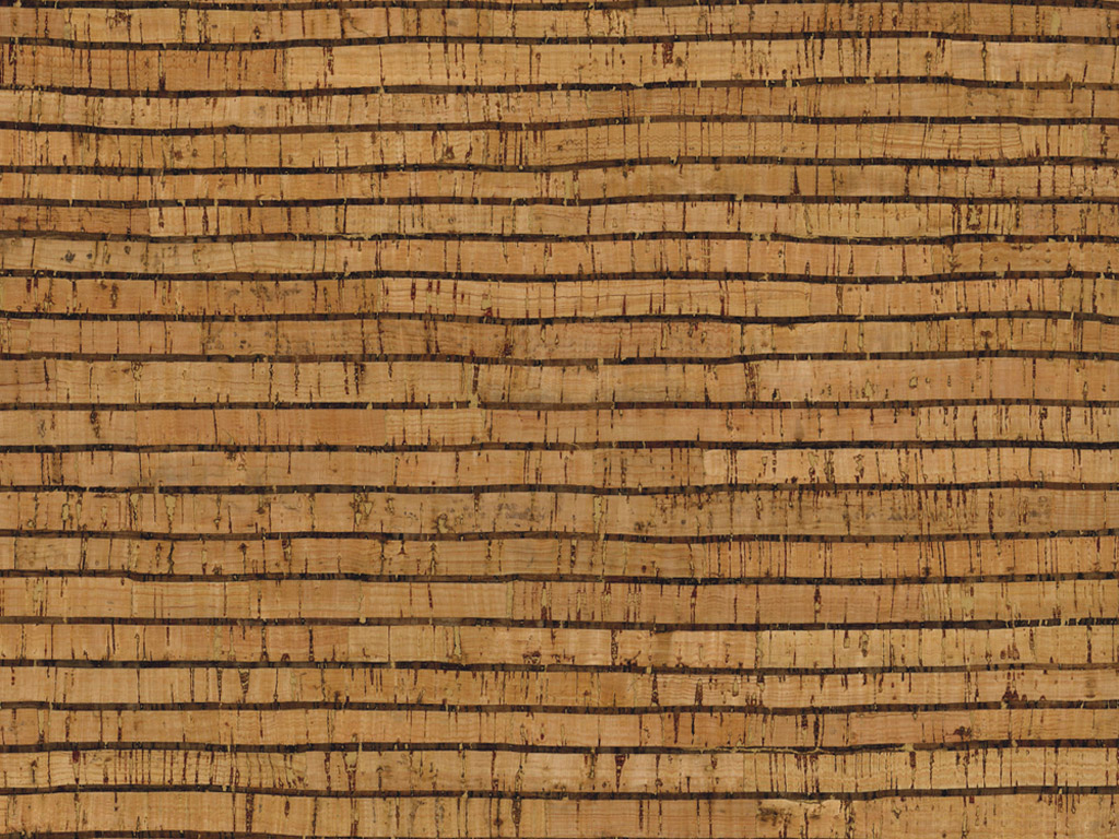 Cork fabric Rayher 0.5mm 45x30cm Stripes natural/black