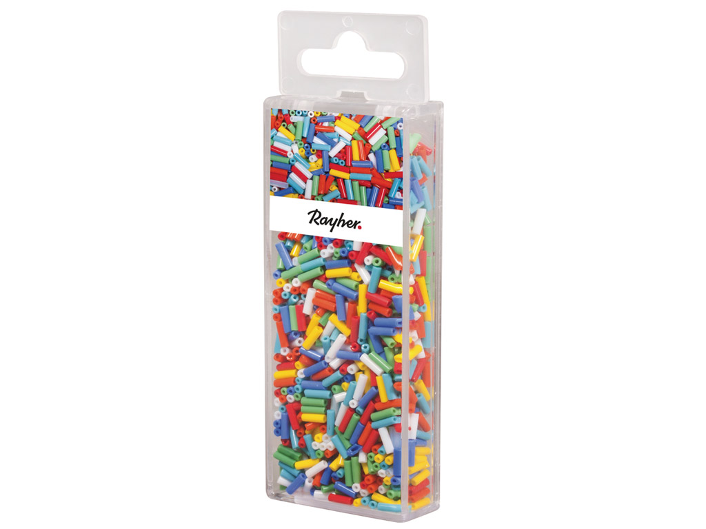 Glass beads Rayher opaque 50g various colours