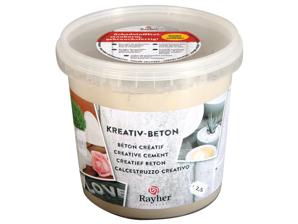 Creative cement Rayher 2.5kg