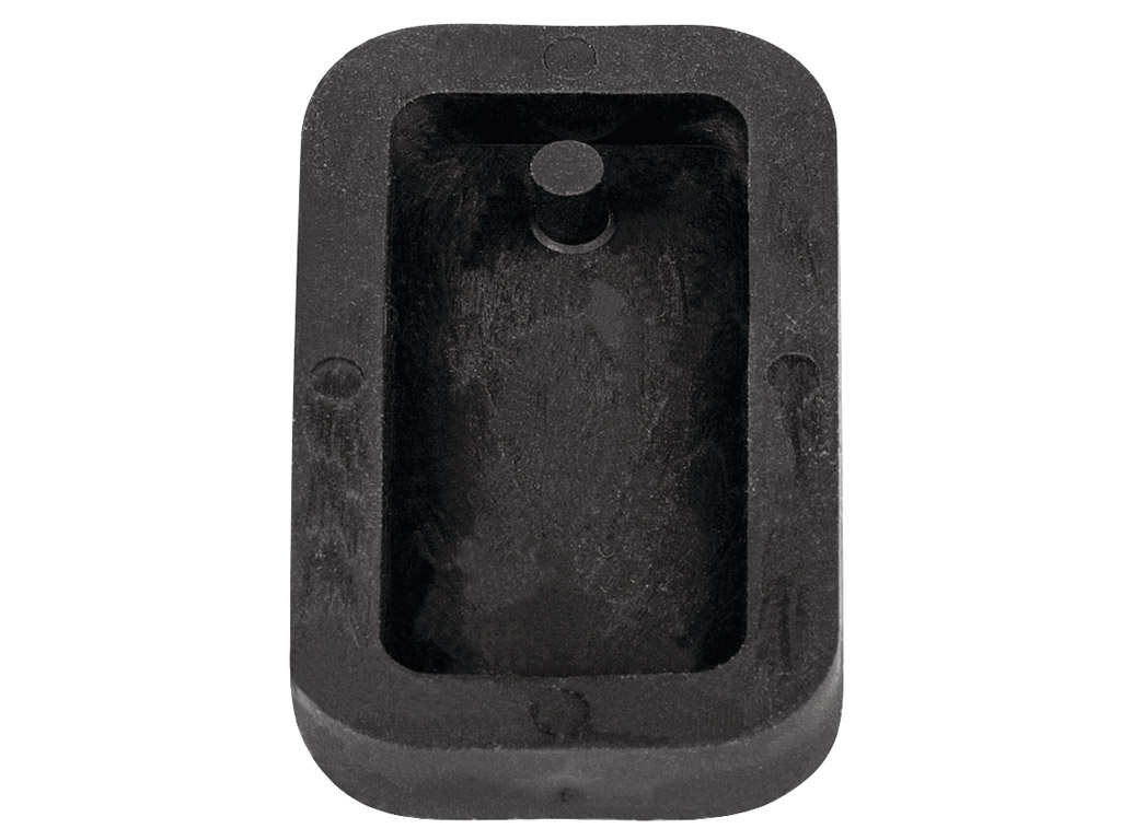 Jewellery casting mould Rayher rectangle 1.9x3.9cm
