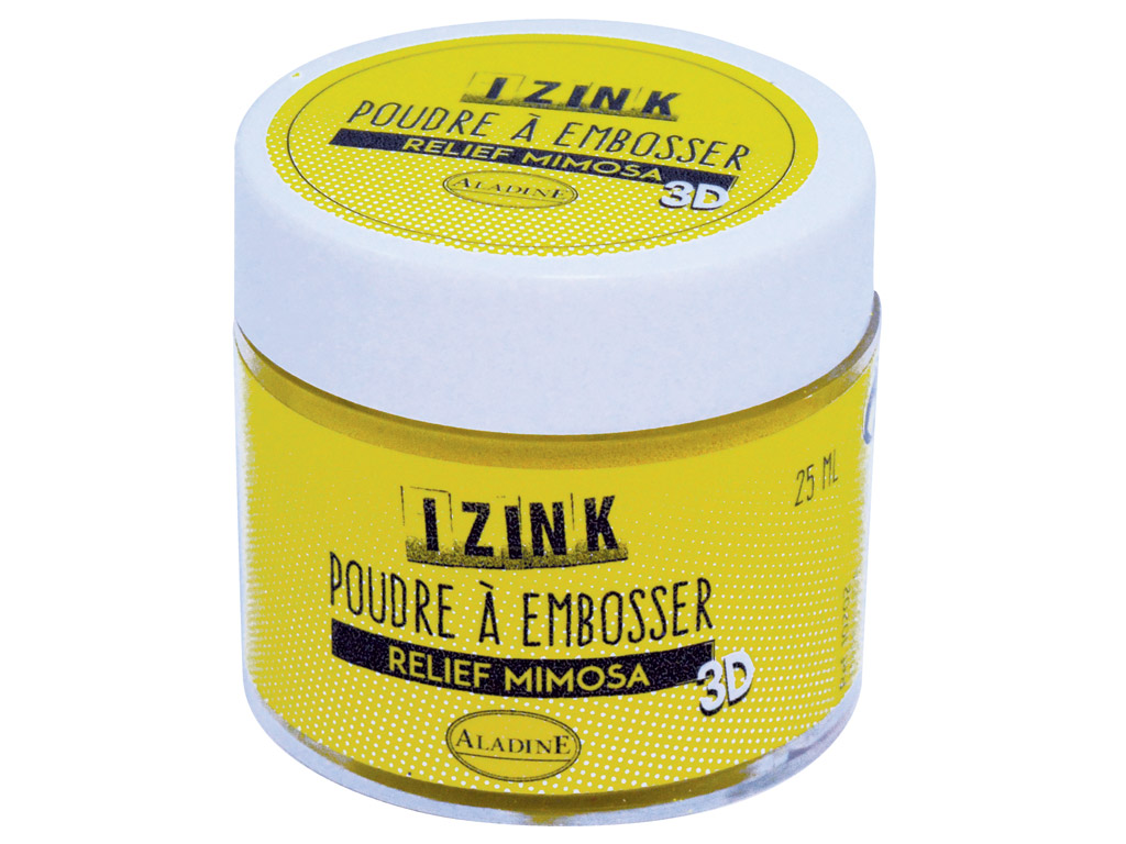 Embossing powder Aladine 30ml mimosa