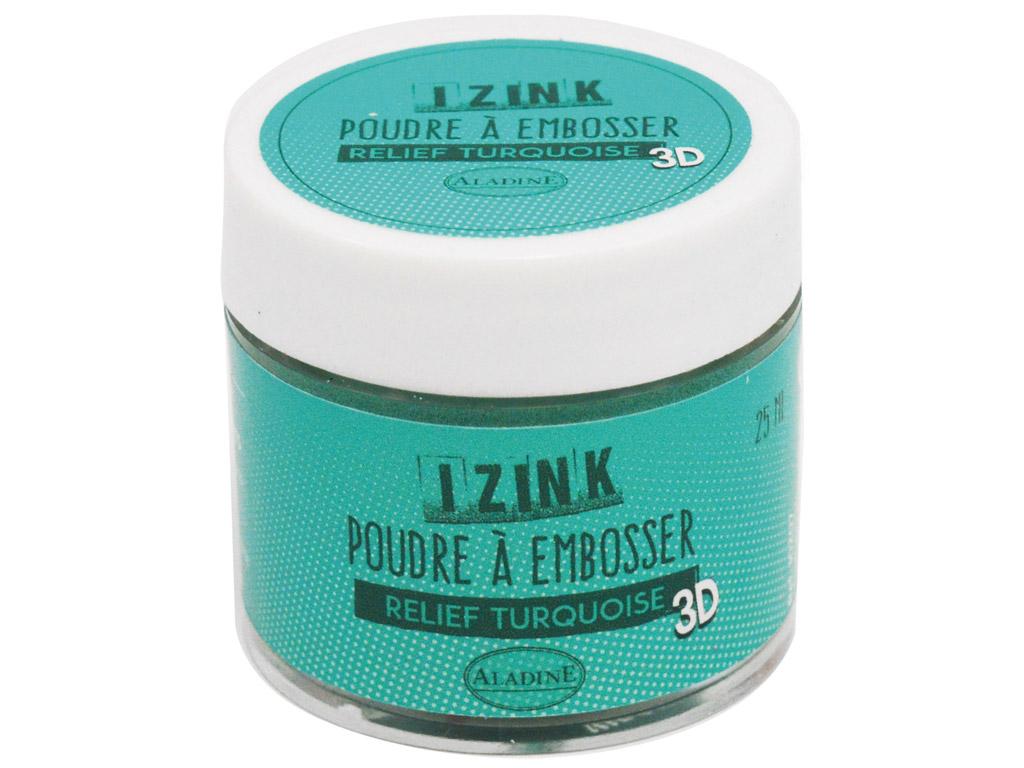 Embossing powder Aladine 30ml turquoise