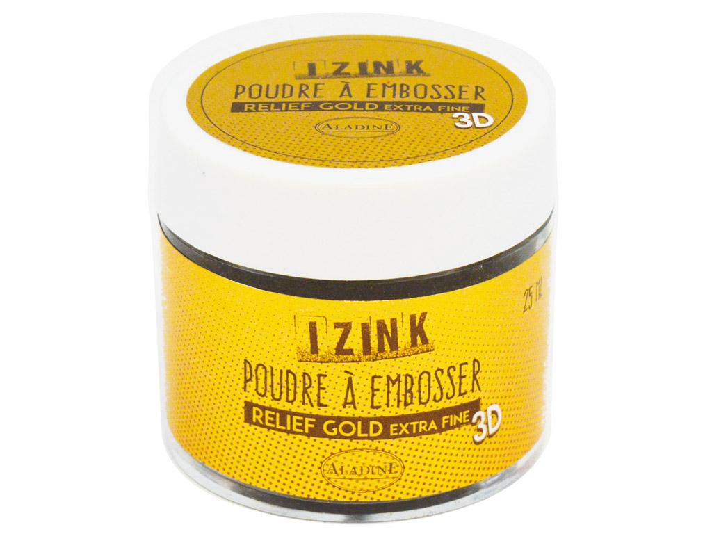 Embossing powder Aladine 30ml gold extra fine