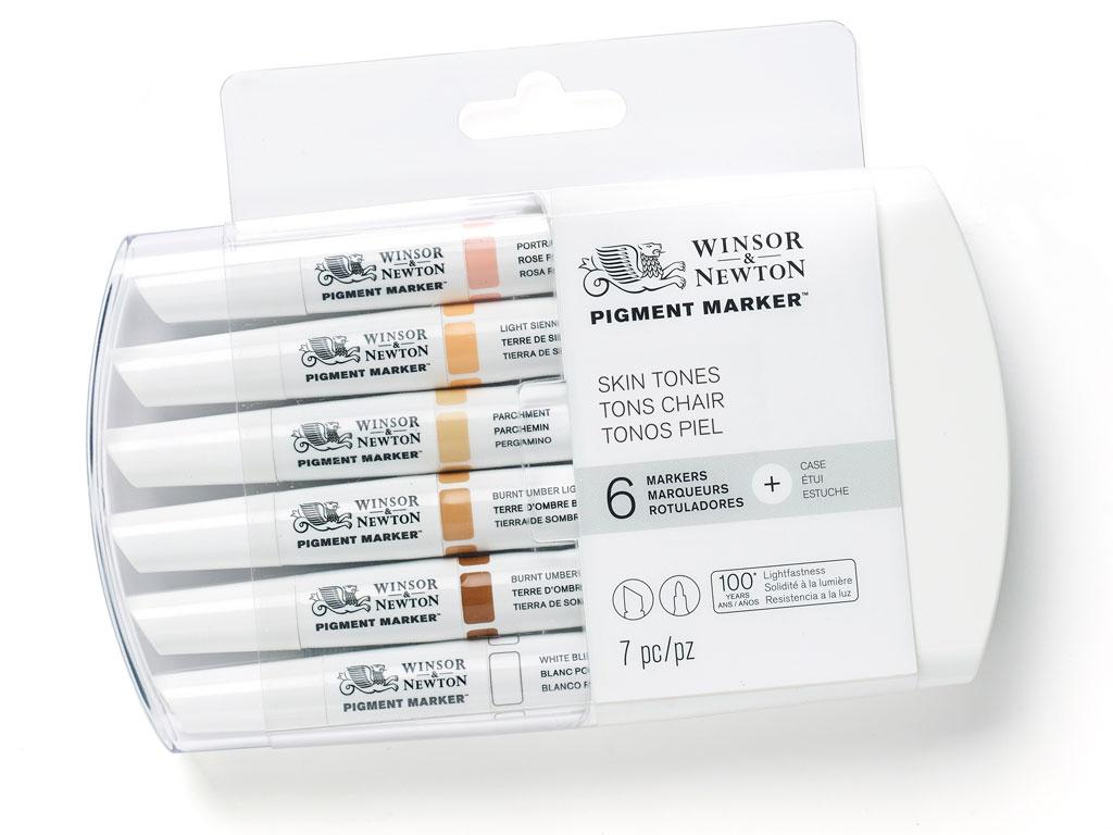 Marker W&N Pigment 6tk skin tones
