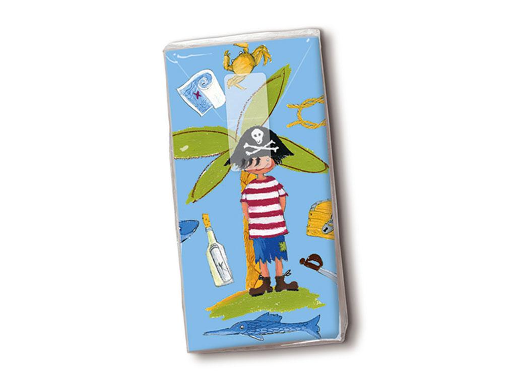 Papīra kabatlakatiņi 10gab. 4-slāņu Little Pirate