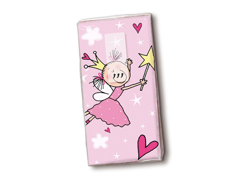 Papīra kabatlakatiņi 10gab. 4-slāņu Little Princess