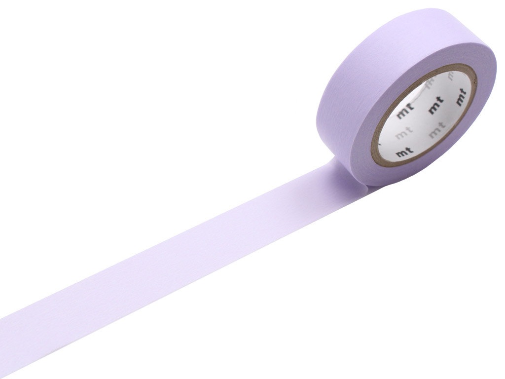 Masking tape mt 1P basic 15mmx10m pastel purple