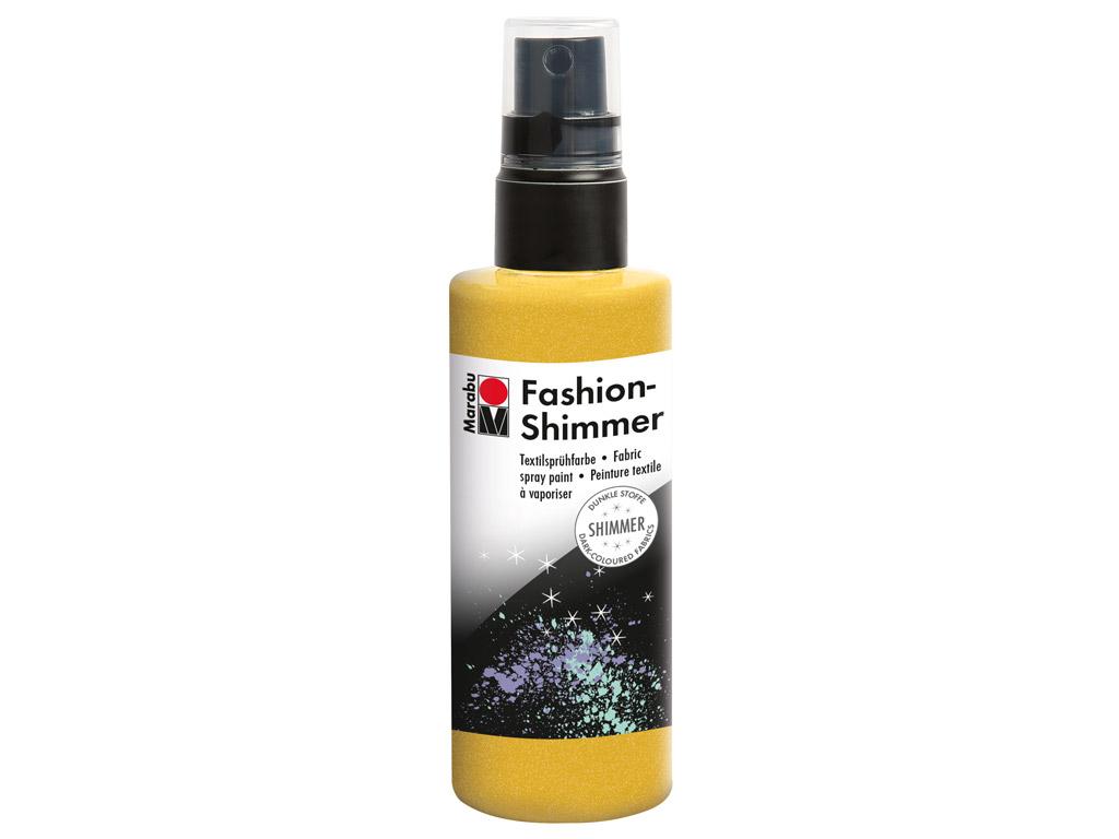 Krāsa tekstilam Fashion Shimmer 100ml 520 lemon