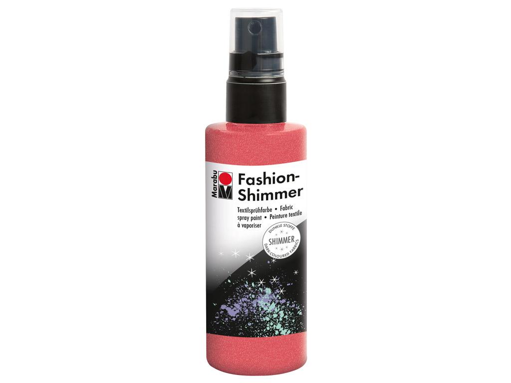 Tekstilės dažai Fashion Shimmer 100ml 531 red