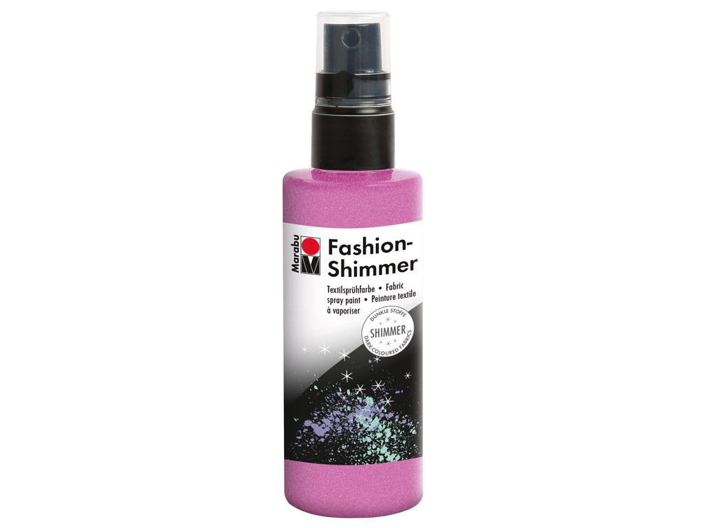 Krāsa tekstilam Fashion Shimmer 100ml 534 rose pink