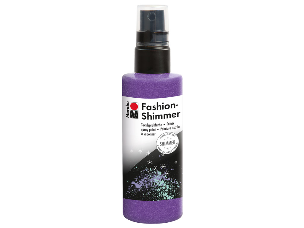 Tekstilės dažai Fashion Shimmer 100ml 596 lilac