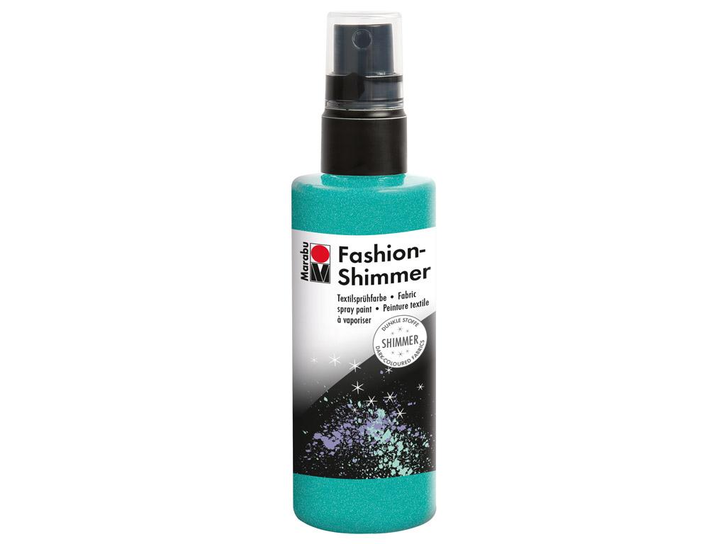 Krāsa tekstilam Fashion Shimmer 100ml 599 aquamarin