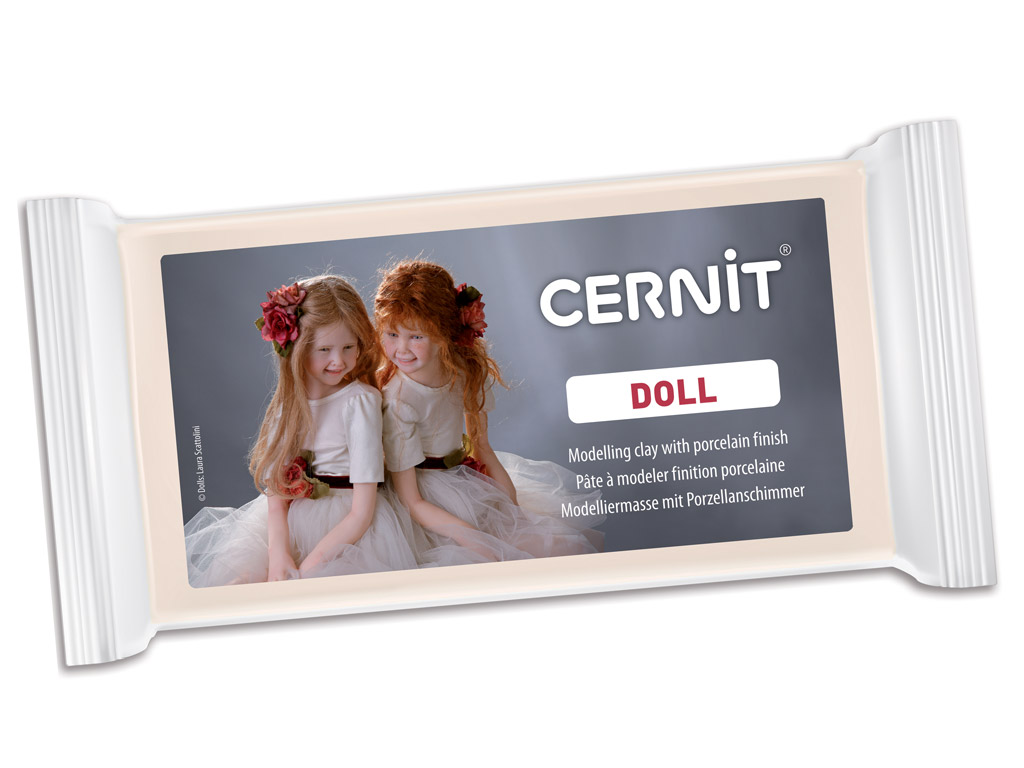 Polymer clay Cernit Doll Translucent 500g 425 carnation