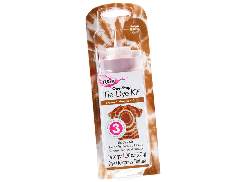 Tulip One-Step Tie-Dye Kit 5.7g (118ml) brown