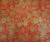 Lokta Paper 51x76cm Anapurna Floral Gold on Red