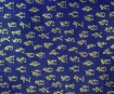 Lokta Paper 51x76cm Alphabets Gold on Royal Blue