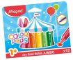 Rasvakriit ColorPeps Early Age Jumbo 12tk