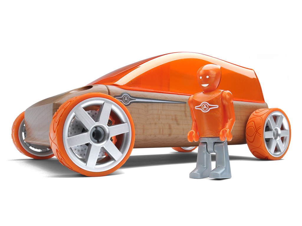 Rotaļu auto Automoblox Original M9 sportvan orange