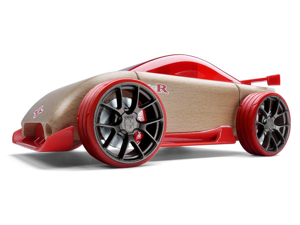 Žaislinis automobilis Automoblox Original C9-R sportscar red