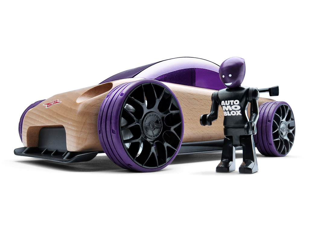 Žaislinis automobilis Automoblox Original S9-R sport sedan purple