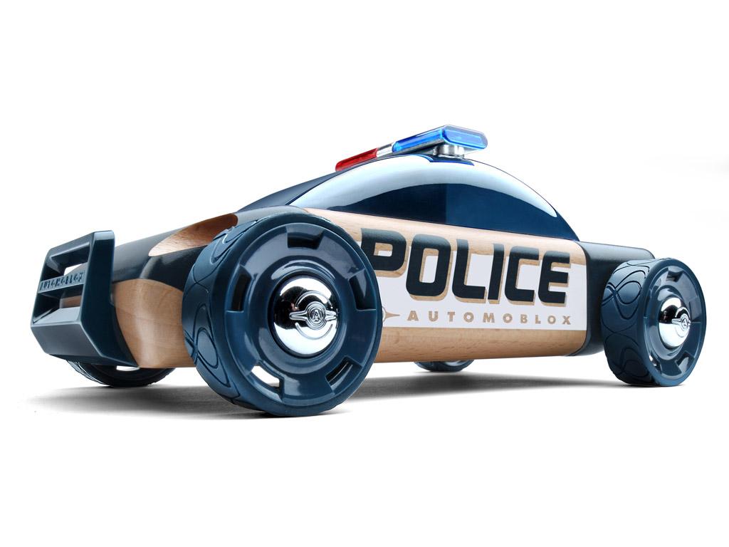 Žaislinis automobilis Automoblox Original S9 police dark blue