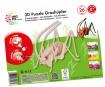 3D puzle koka Mara Grasshopper 26 daļas