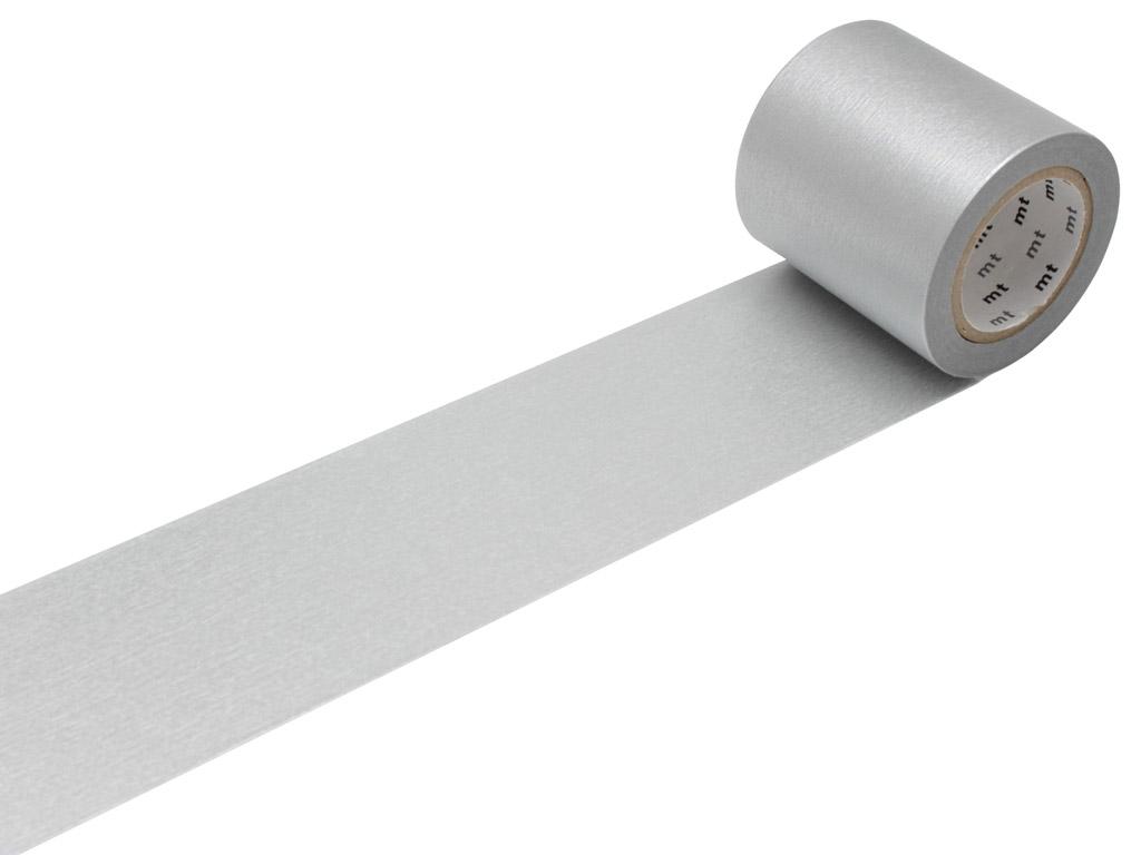 Washi dekoratyvi lipni juostelė mt casa basic 50mmx10m silver