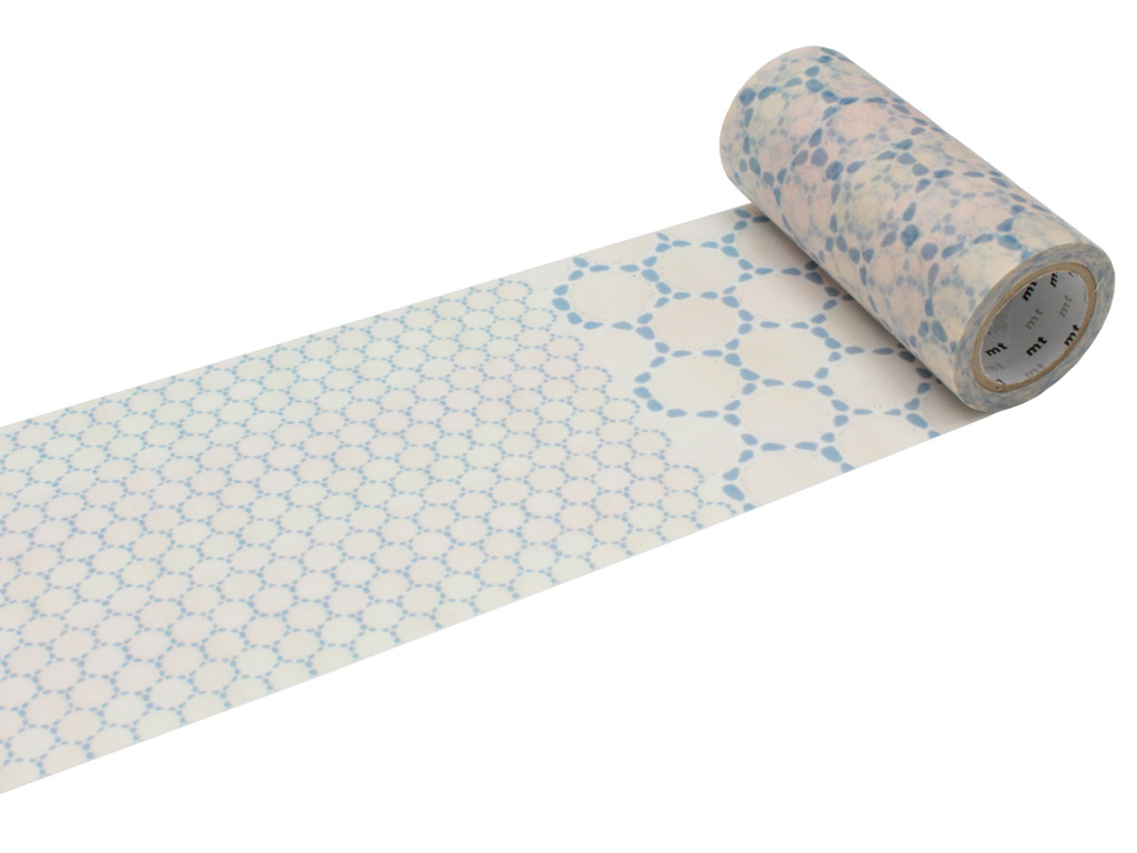 Washi līmlente mt casa deco 100mmx10m lace cotton