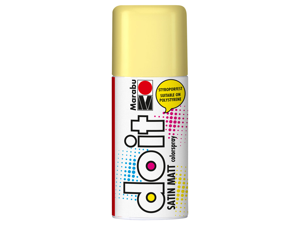 Aerozoliniai dažai do it Satin Matt 150ml 022 pastel yellow
