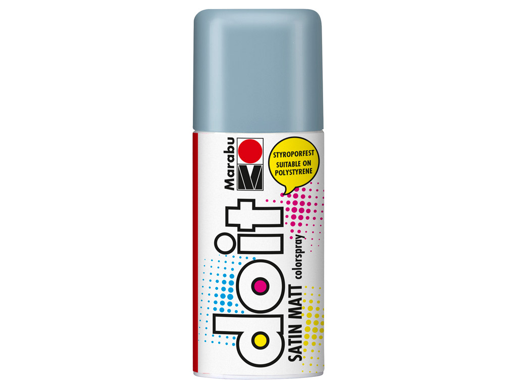 Aerozoliniai dažai do it Satin Matt 150ml 140 grey blue