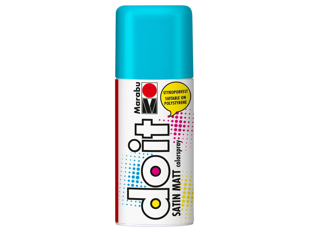 Aerozoliniai dažai do it Satin Matt 150ml 150 turquoise