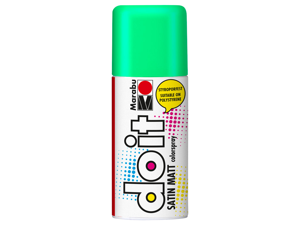 Aerozoliniai dažai do it Satin Matt 150ml 153 mint