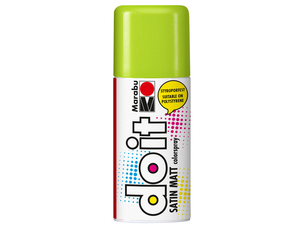 Aerozoliniai dažai do it Satin Matt 150ml 154 lime